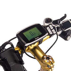 Pantalla LCD y tamaño y paquete de bicicleta