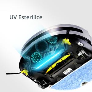 La lámpara UV de 13 cm de longitud puede matar al 96% de los ácaros del polvo