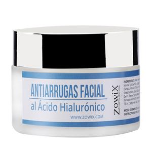 ZOWIX Crema Facial Antiarrugas para Piel Seca y Mixta. Crema Antiedad, Hidratante y Nutritiva con Acido Hialuronico. Mujer y hombre. Sin Parabenos. 50 ml: Amazon.es: Belleza
