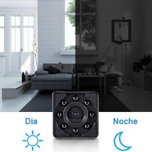 cámara espía mini wifi visión nocturna