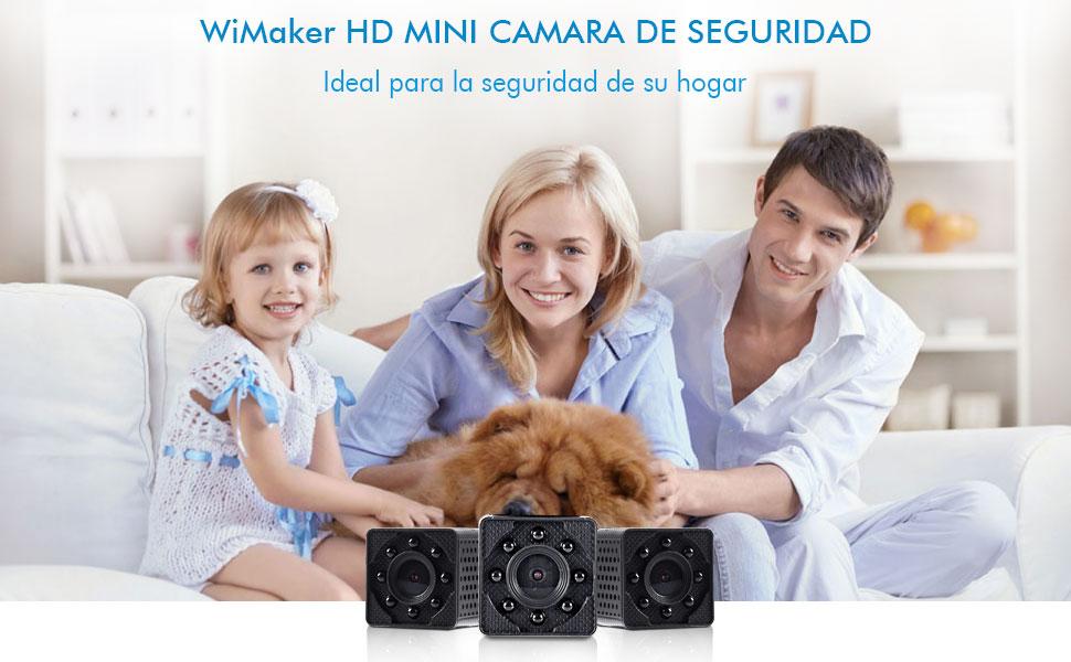 mini cámara de seguridad para el hogar