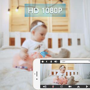 HD 1080P wifi cámara oculta espía