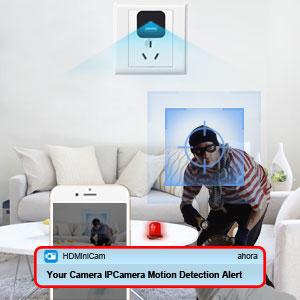 wifi cámara usb cargador de detección de movimiento oculto
