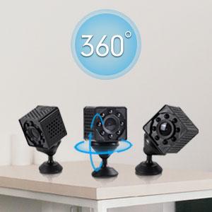 WiFi cámara espía 360 rotación