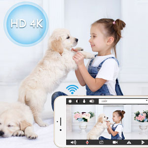 mini camara espia wifi 1080P HD 4K