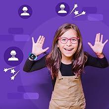 Bloqueo desconocidos, Anti spam, Seguridad, SoyMomo, teléfono niños, GPS niños, Smartwatch niños