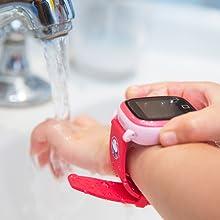 Waterproof, Resistente al agua, Acuático, SoyMomo, teléfono niños, GPS niños, Smartwatch niños