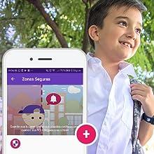 Zonas seguras, Zona de seguridad, SoyMomo, teléfono niños, GPS niños, Smartwatch niños