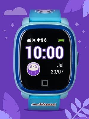 SoyMomo Azul, SoyMomo, Soy Momo, smartwatch niños, telefono niños, GPS niños
