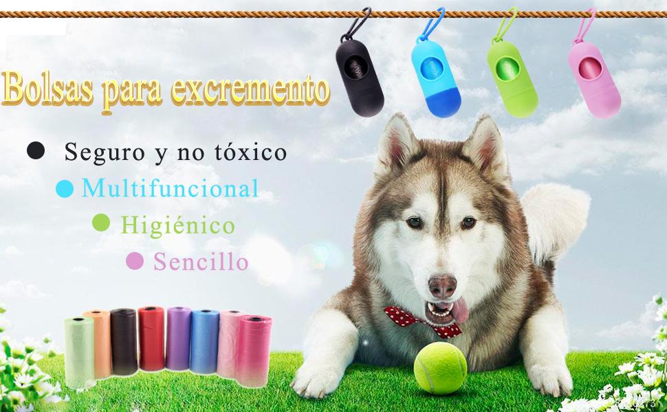 FEIGO Bolsas para excremento de Perro-Grandes con ...