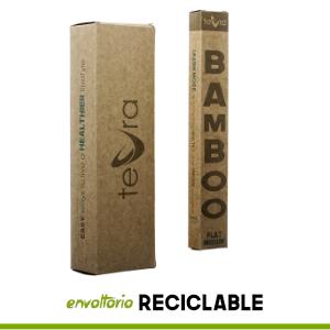 Todo el envoltorio de nuestros cepillos está hecho de materiales biodegradables 100% reciclables, por lo que puede estar tranquilo a la hora de desecharlo ...