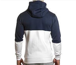 Esta sudadera con capucha y cremallera plateada combina a la perfección con el logotipo de Sharkers en blanco y con los dos colores que la componen, ...