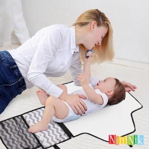 Cambiador portatil de pañales practico confortable el mejor producto para bebes