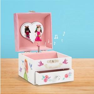 5805d60bec96 JewelKeeper - Caja Joyero Musical con Búhos y Animales del Bosque ...