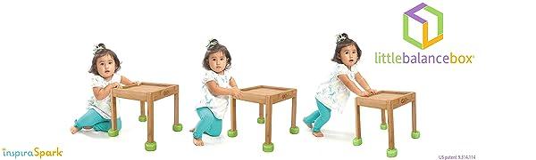 Little Balance Box 2-en-1: Andador para bebes, juguete para ...