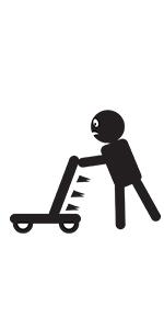 Little Balance Box 2-en-1: Andador para bebes, juguete para empujar (Green)