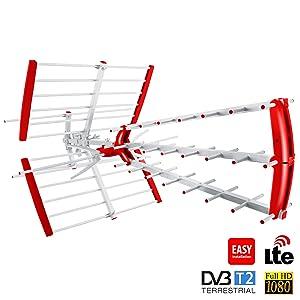 Antena Externa TV DVB-T direccional Maclean LTE Aire Libre ...