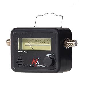 Medidor Detector de señal satélite Maclean MCTV-406 para ...