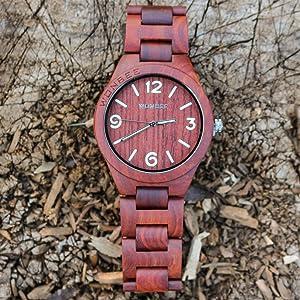 Somos una marca de relojes de estilo único. Relojes de bambú naturales y relojes de madera. Mantenemos nuestros relojes al más alto nivel de artesanía, ...