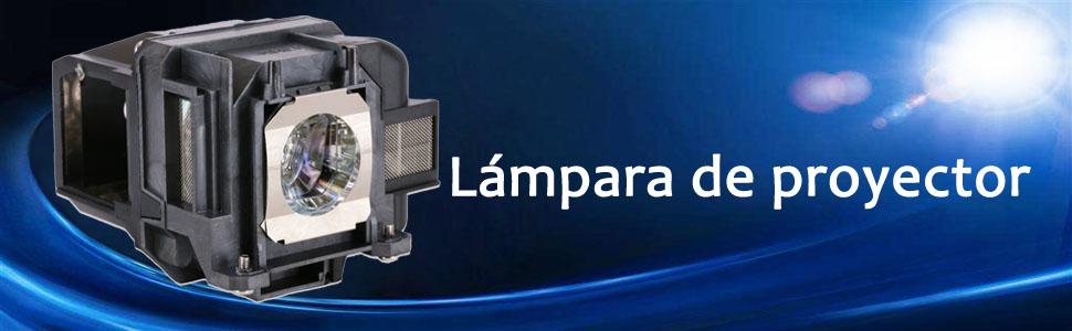 Bombilla de repuesto Loutoc V13h010l78 para Epson Elplp78 EB-S03 ...
