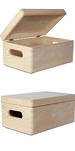 Pequeña Caja de Madera con Asas · Pequeña Caja de Madera sin Asas · Medio Caja de Madera con Asas · Medio Caja de Madera sin Asas · Grande Caja de Madera ...