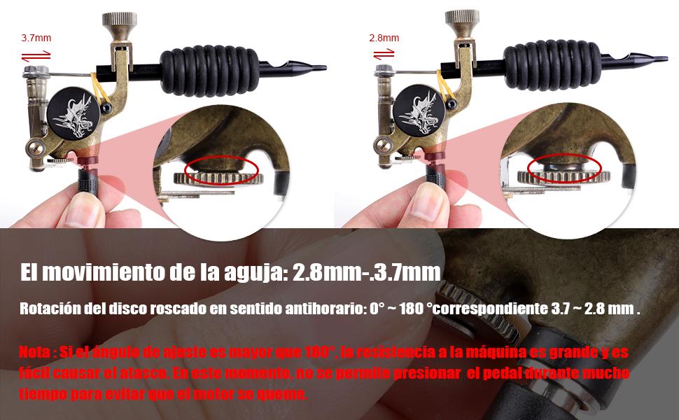 Stigma Maquina de Tatuaje Kit Completo Pistola Rotativa Maquina de ...