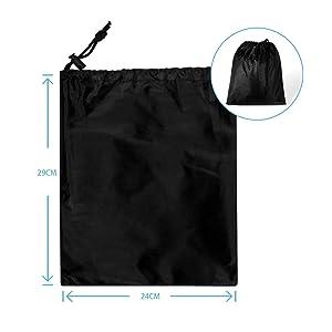 ... la parrilla a gas viene con una bolsa de transporte para guardarla fácilmente cuando no esté en uso. Mantenga sus accesorios de barbacoa al aire libre a ...