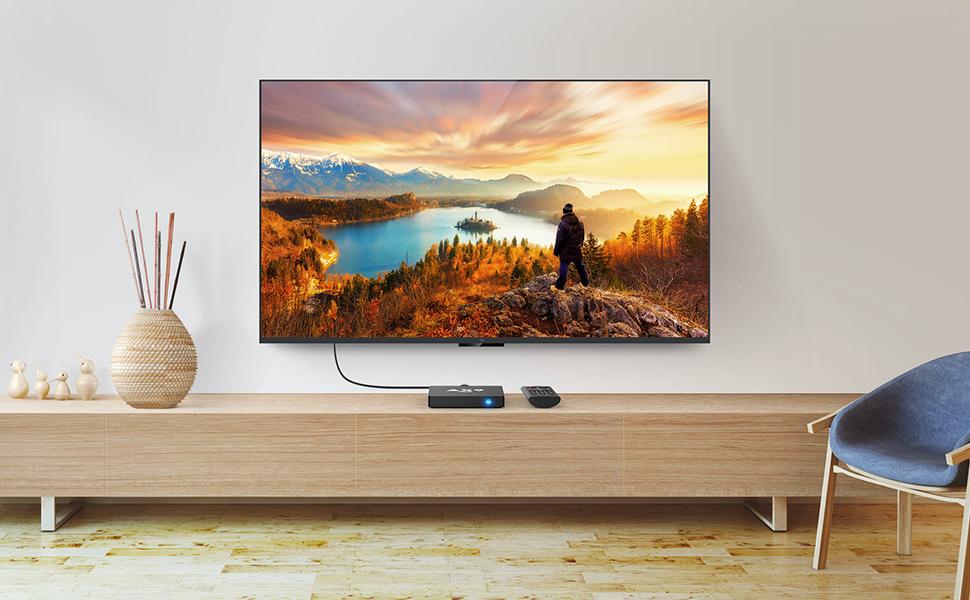 Android TV Box- TICTID AX9 MAX TV Box con Mini Teclado inalámbirco ...