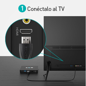 Android TV Box【2G+16G】 M9X MAX TV Box BT 4.0 TV Box Wi-FI 2.4G+5G 802.11 b/g/n 10/100M Android Smart Box Quad-Core 64bit Cortex-A53: Amazon.es: Electrónica