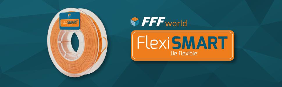 FlexiSMART Skin 2 1kg Filamento Flexible TPU 1.75mm para Impresora ...