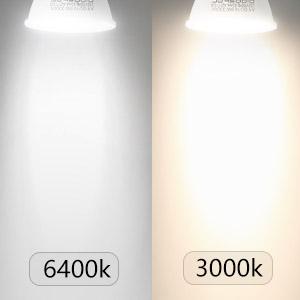 Aigostar - 8W GU10 Bombilla LED, Luz calida 3000K, 560lm, 8W Equivalente a 55Watt Lámpara Incandescente, Paquete de 5 Unidades [Clase de eficiencia ...