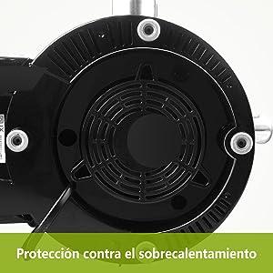 Aigostar MyFrappe Black 30IMX - 850W Licuadora semiprofesional ...
