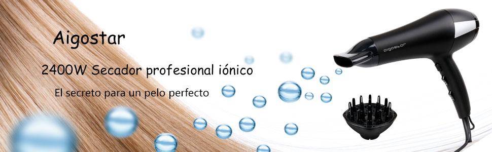 Secador profesional iónico