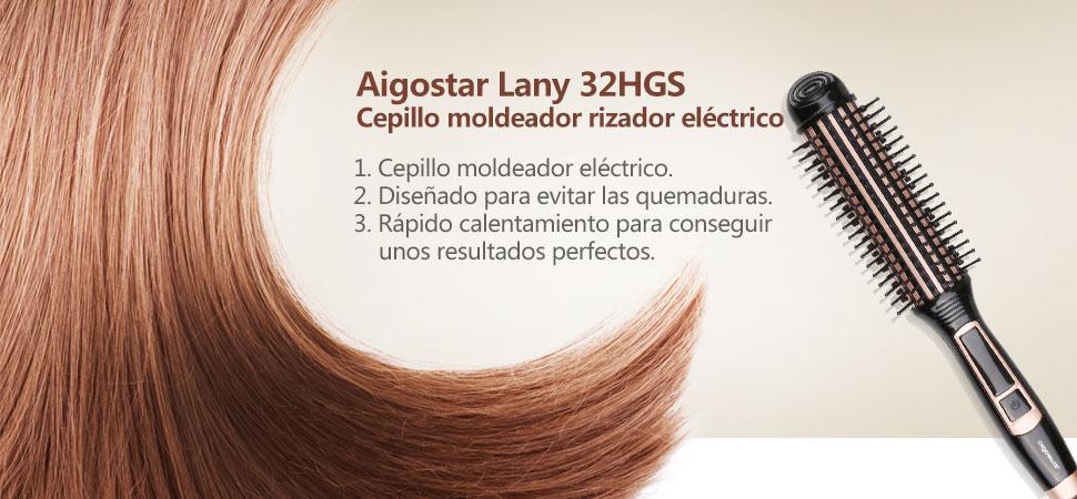 Cepillo moldeador para el cabello. Diseñado con materiales seguros y con las mejores calidades.