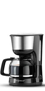 Aigostar Chocolate 30HIK-Máquina de café, 1000W cafetera de ...