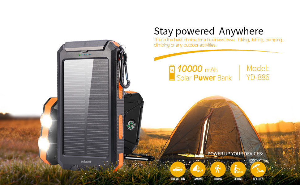 Solar Charger for outdoors