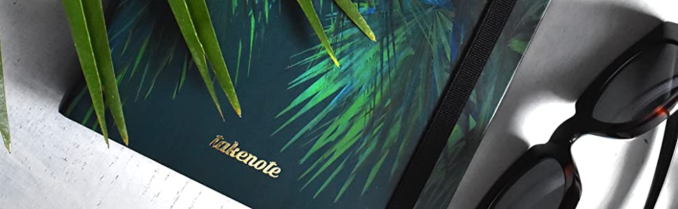 Planner 2019 - Takenote Selva - Encuadernación Wire-o semi-oculto- Semana Vista - Tamaño 17,5x21,5