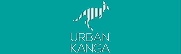Urban Kanga Almohada Viaje Cervical de Beb/é Coj/ín de Soporte de Cuello Infantil Rosa