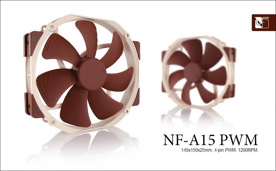Noctua NF-A15 PWM, Ventilador Silencioso de Gran Calidad, 4 Pines ...