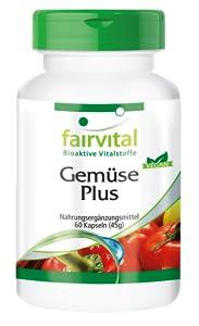 Verduras Plus - Altamente dosificado - 60 cápsulas ...