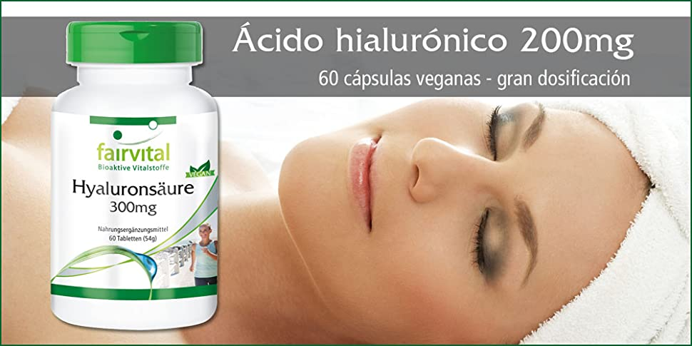 Ácido hialurónico 200mg – 60 cápsulas