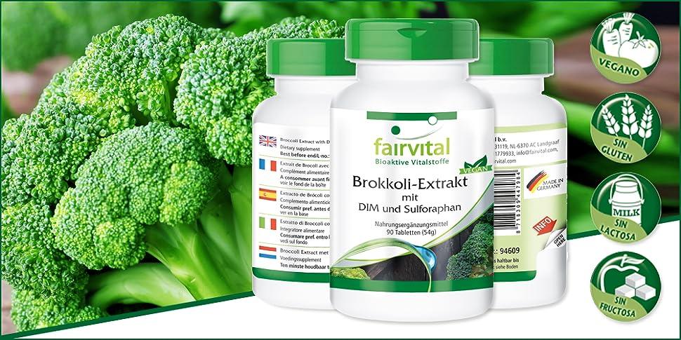 Un suplemento de extracto de brócoli de Fairvital con DIM puede ser de gran ayuda: