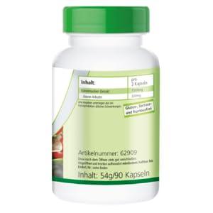 ... contiene 20% Arbutina; 82%), recubrimiento de hidroxipropilmetilcelulosa (cubierta de la cápsula), ácidos grasos de magnesio, dióxido de silicio