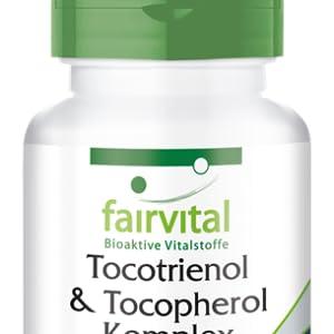 Tocotrienol Complex - Tocoferol - Altamente dosificado - 60 Licaps® - Vitamina E natural de extracto de aceite de palma - ¡Calidad Alemana ...