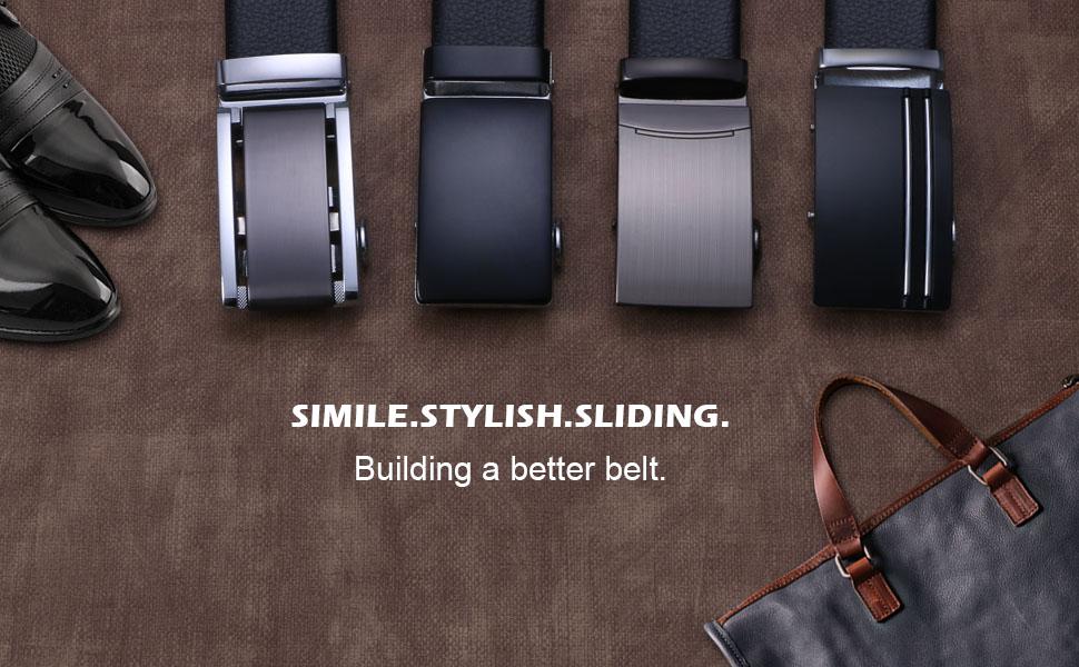 flintronic Cinturón Cuero Hombre 0a80dbf51504