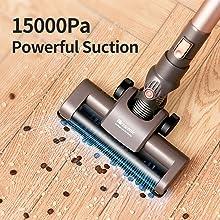 proscenic P8 PLUS Aspirador sin cable Potente 15000Pa, de mano 2 ...