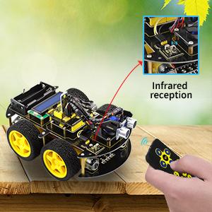 Modo de control remoto infrarrojo