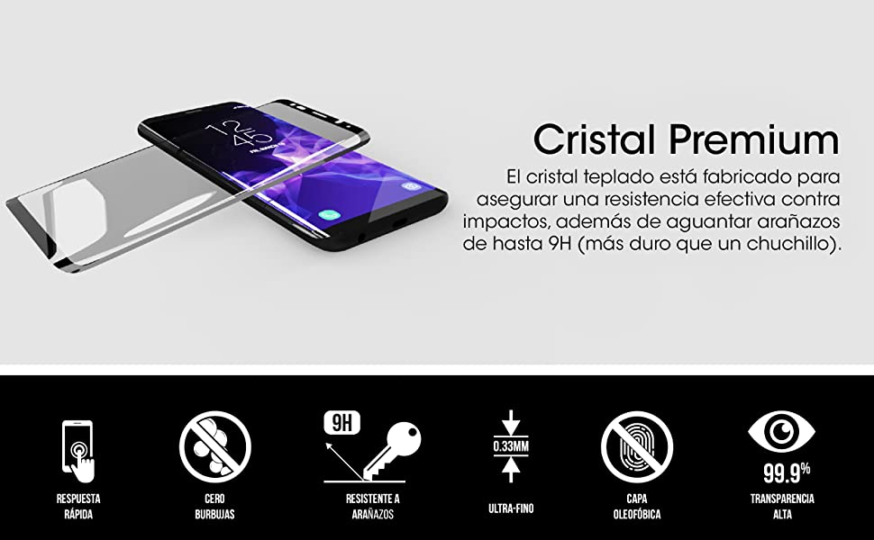 Galaxy S9+ Cristal Premium