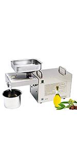 ... Máquina prensa de aceite de 400 - 750 W ...