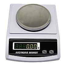 CGOLDENWALL Balanza Analítica Científica 0.001g Electrónica ...